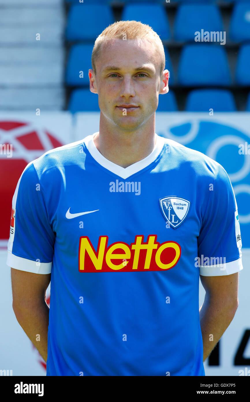 football, 2. Bundesliga, 2016/2017, VfL Bochum, team presentation for the game season, portrait Felix Bastians - Stock Image