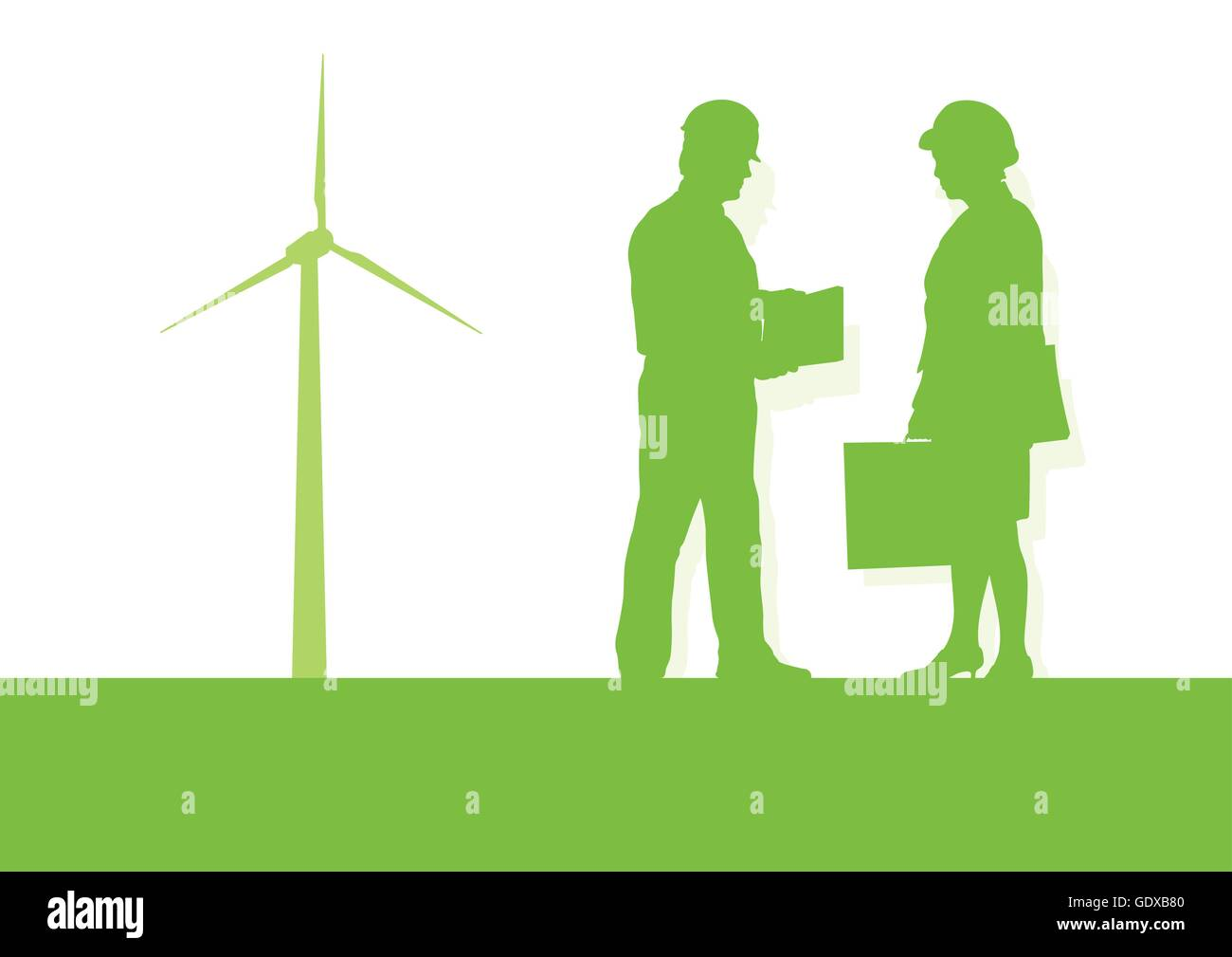 Energy Consulting Stock Photos Images Alamy Wind Turbine Electrical Diagram Engineer Technician Green Power Generator Station Background Vector Concept Image