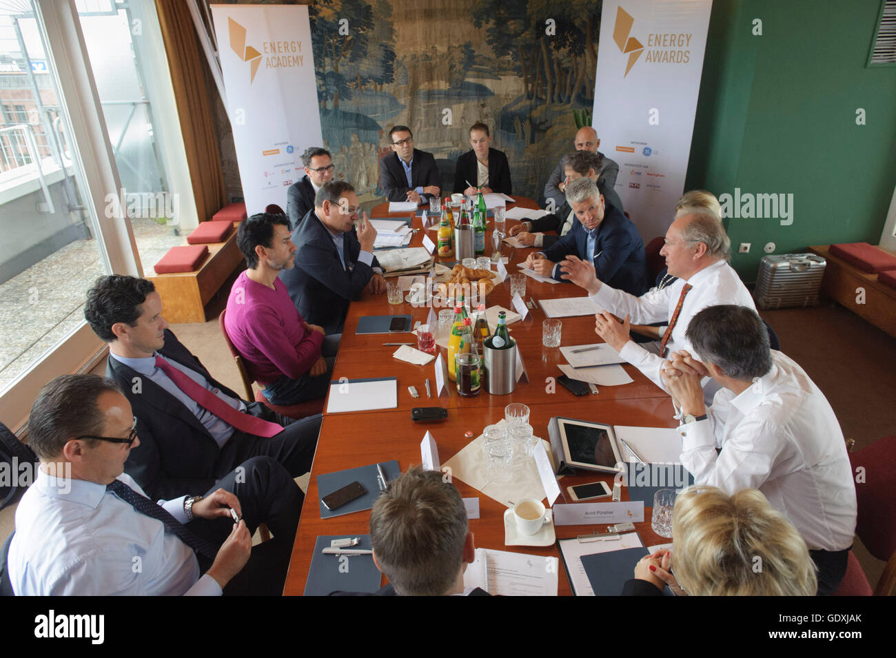 Event of the Energy Academy in the PanAm Lounge - Stock Image