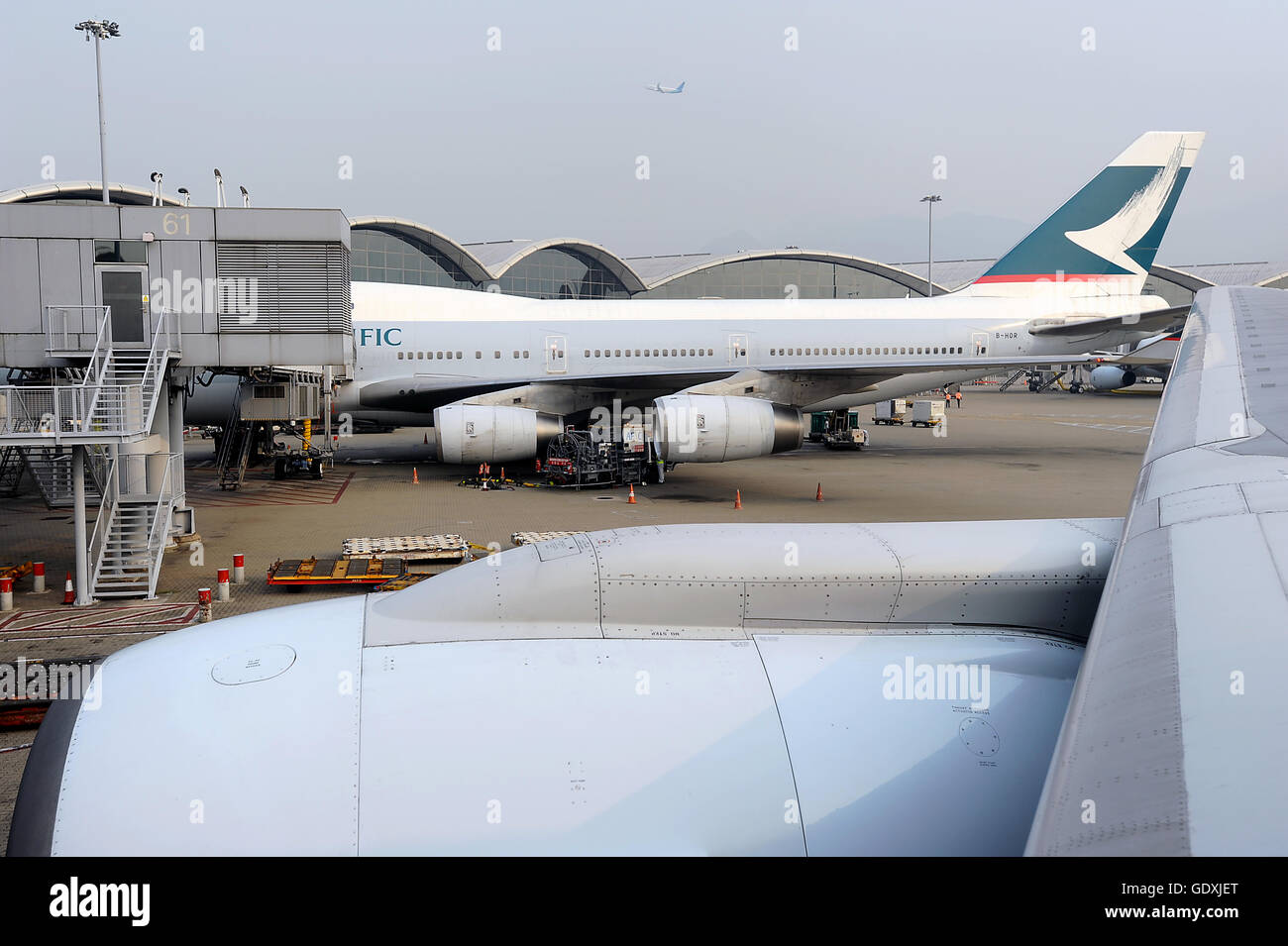 Hong Kong International Airport - Stock Image
