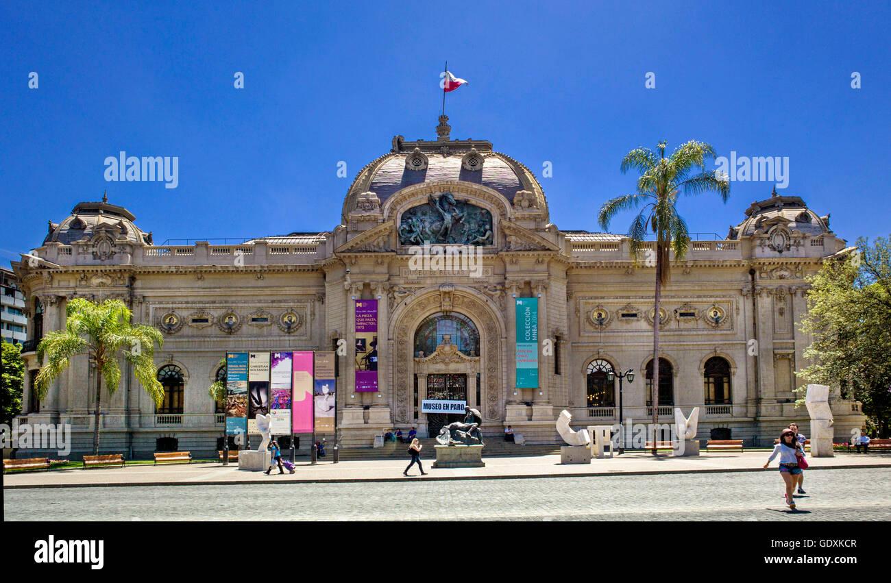 The Palacio de Bellas Artes (Palace of Fine Arts) - Stock Image
