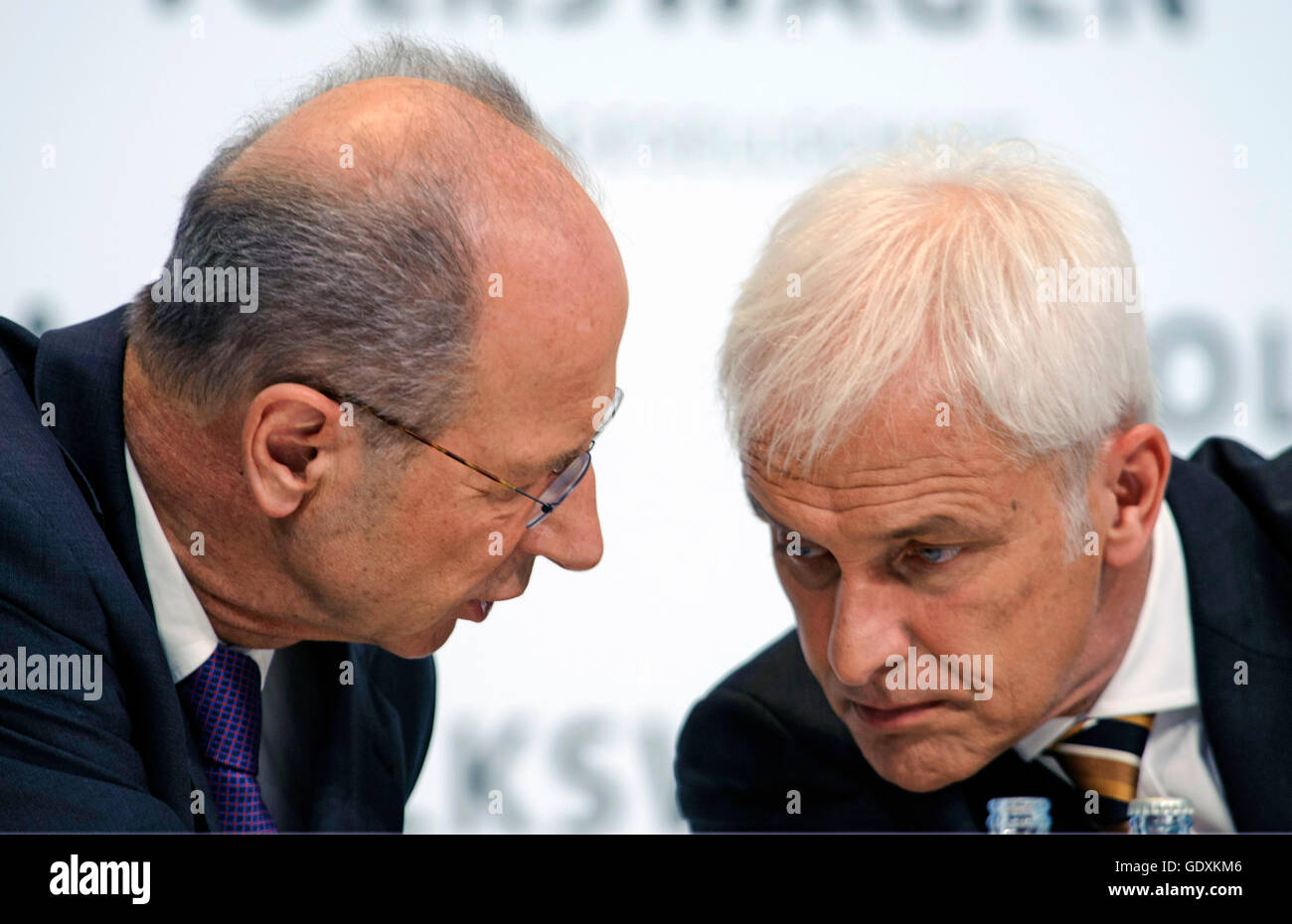 Poetsch and Mueller Stock Photo