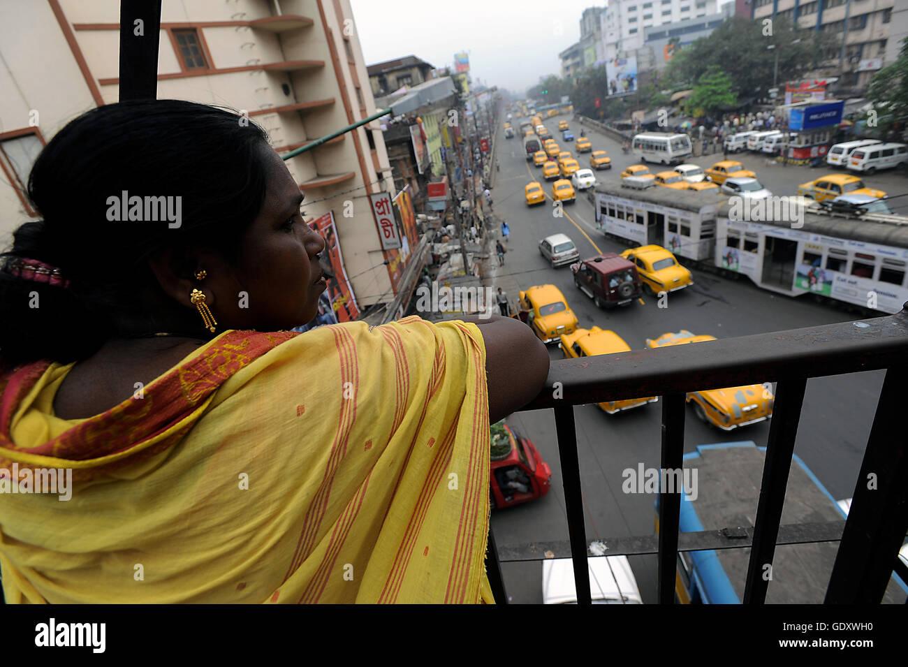 INDIA. Kolkata. 2011. Street scene - Stock Image