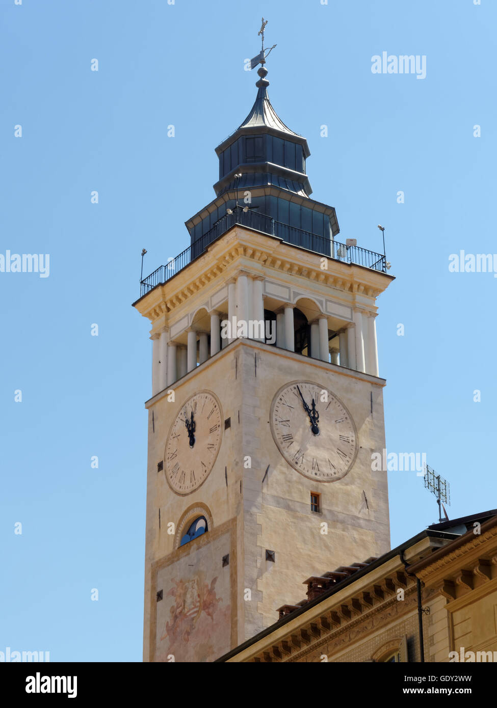 Bell at Cuneo Stock Photo