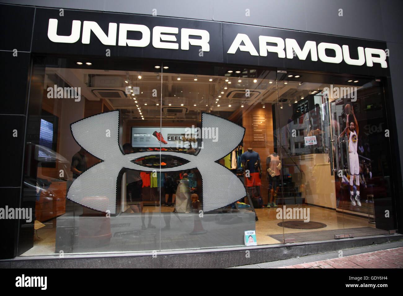 under armour shop