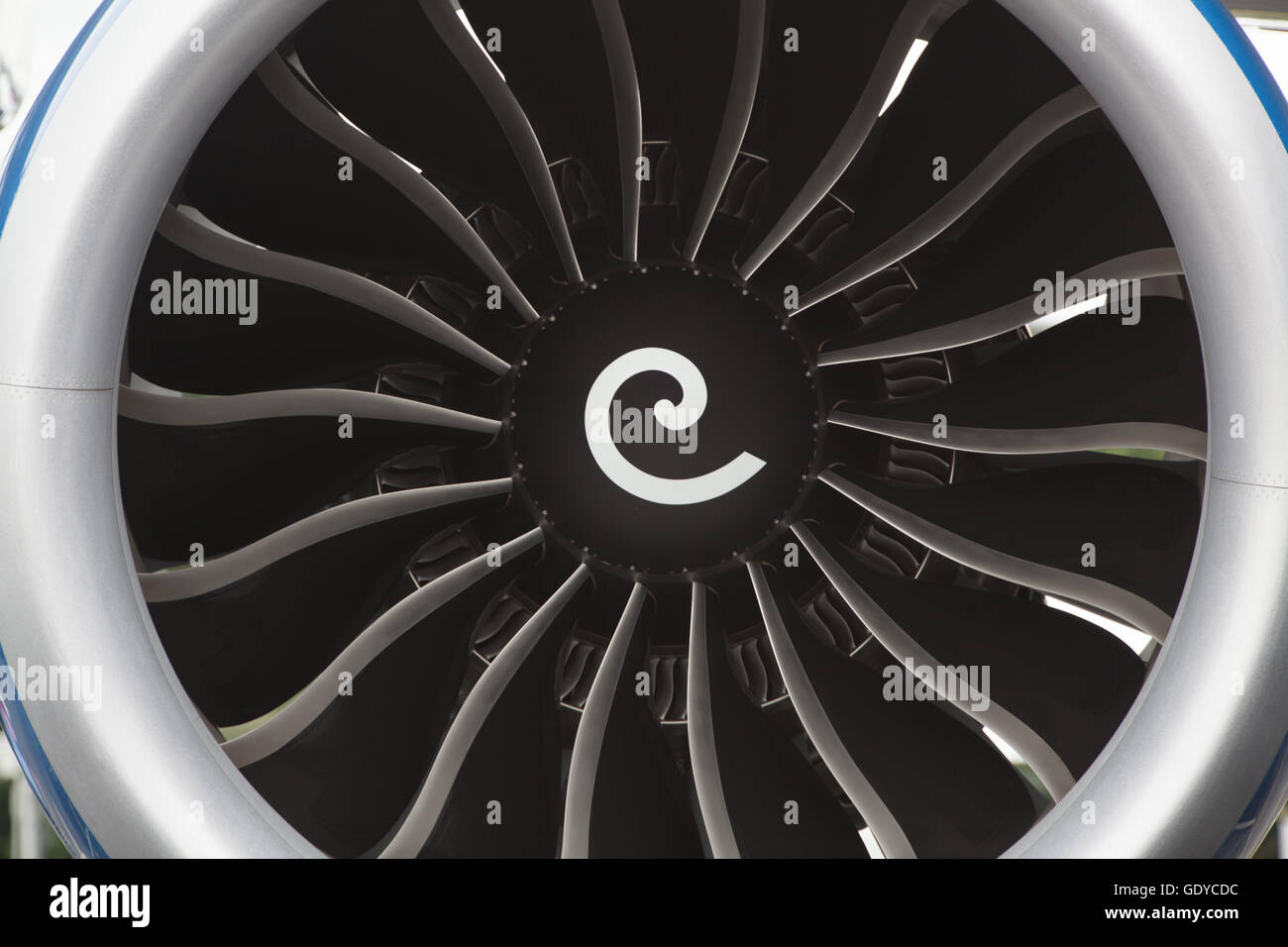 Rolls Royce jet engine - Stock Image