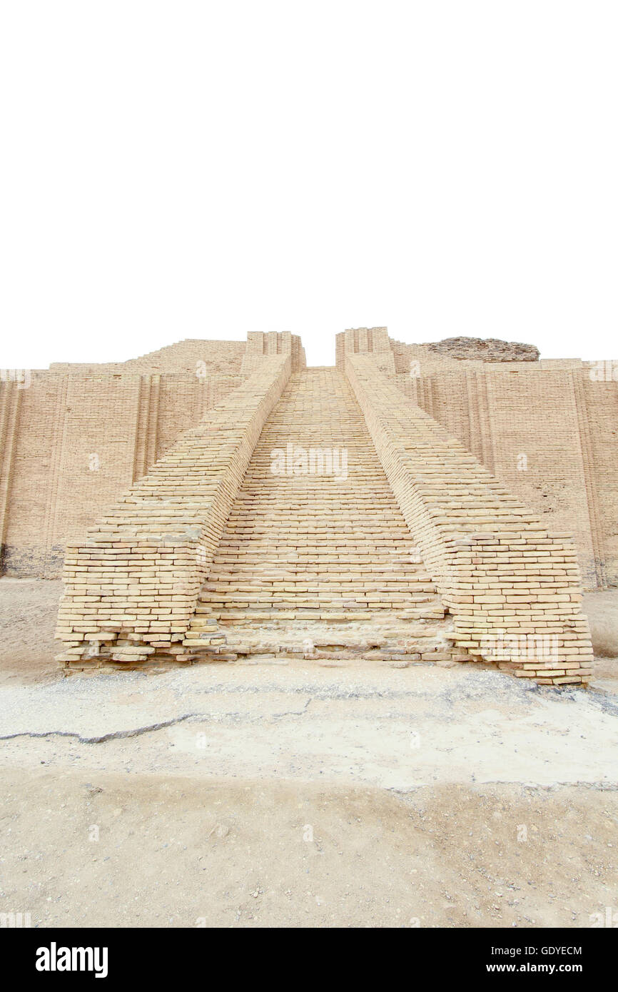 Picture of Ziggurat of Ur and one of the most important