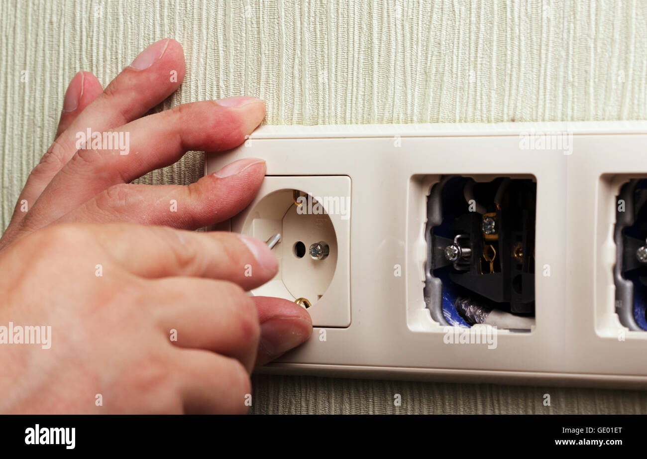 Where to install sockets in the apartment 77