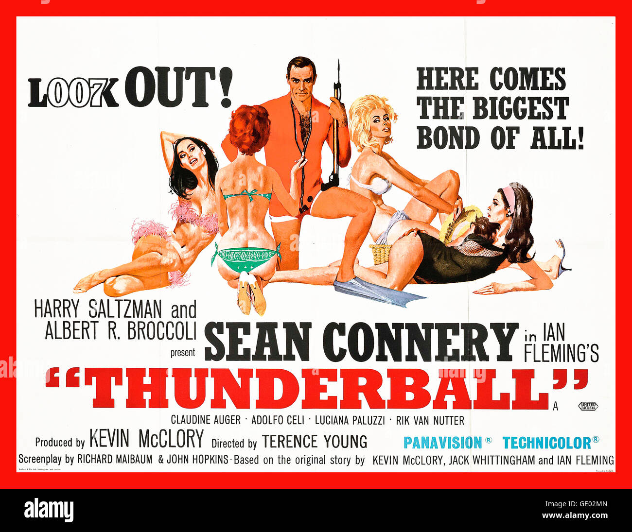 thunderball 1965 is the fourth spy film in the james