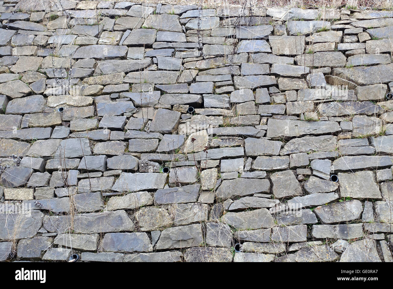 Die Mauer - The Wall - Stock Image