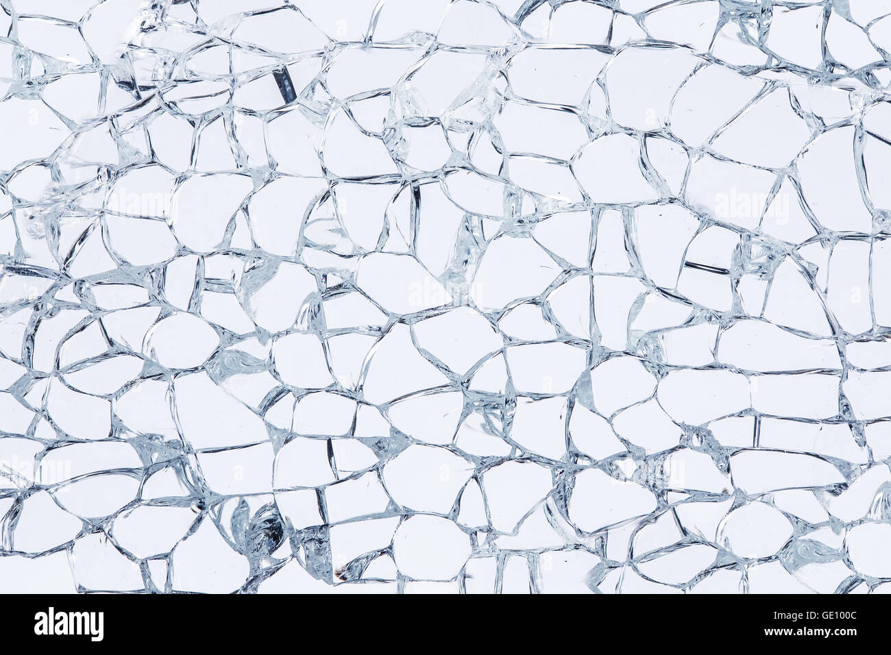Texture of broken safety glass. Macro Stock Photo: 111889356 - Alamy