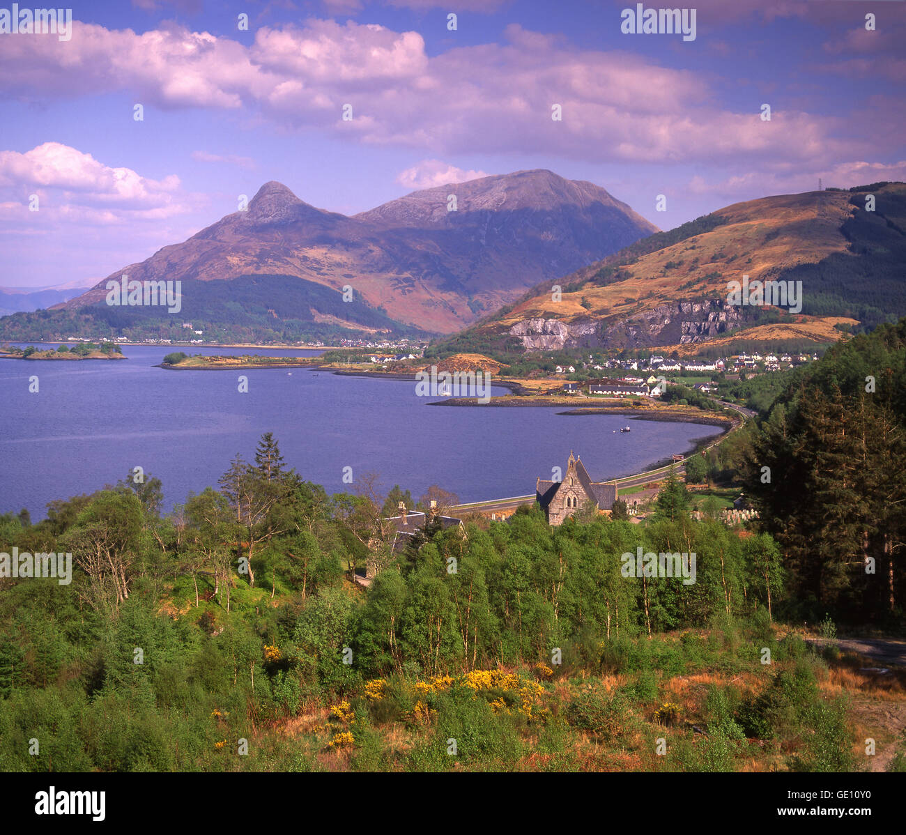 The Pap of Glencoe, West Highlands - Stock Image