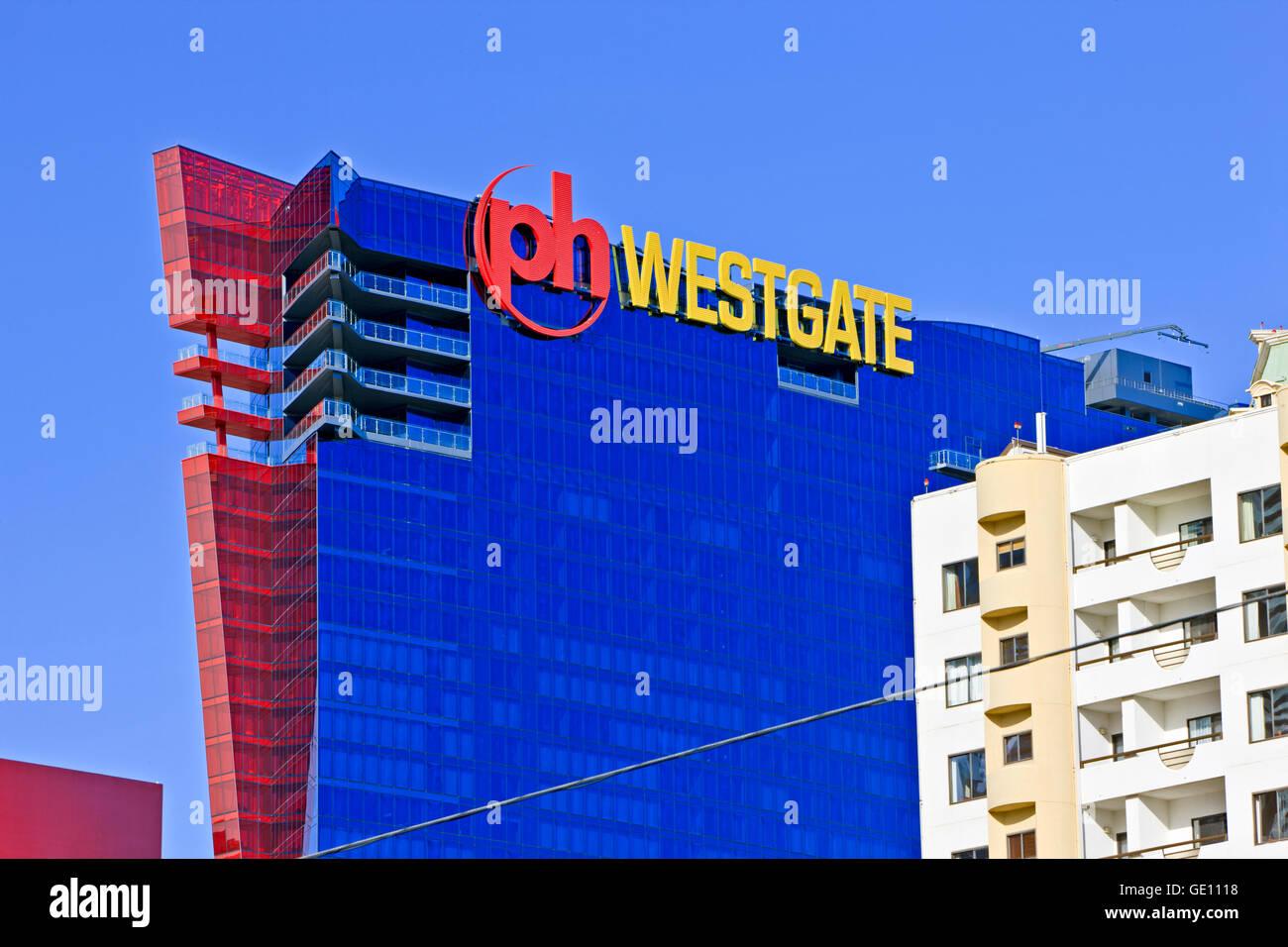Geography Travel Usa Nevada Las Vegas Ph Westgate Hotel Stock Photo Alamy