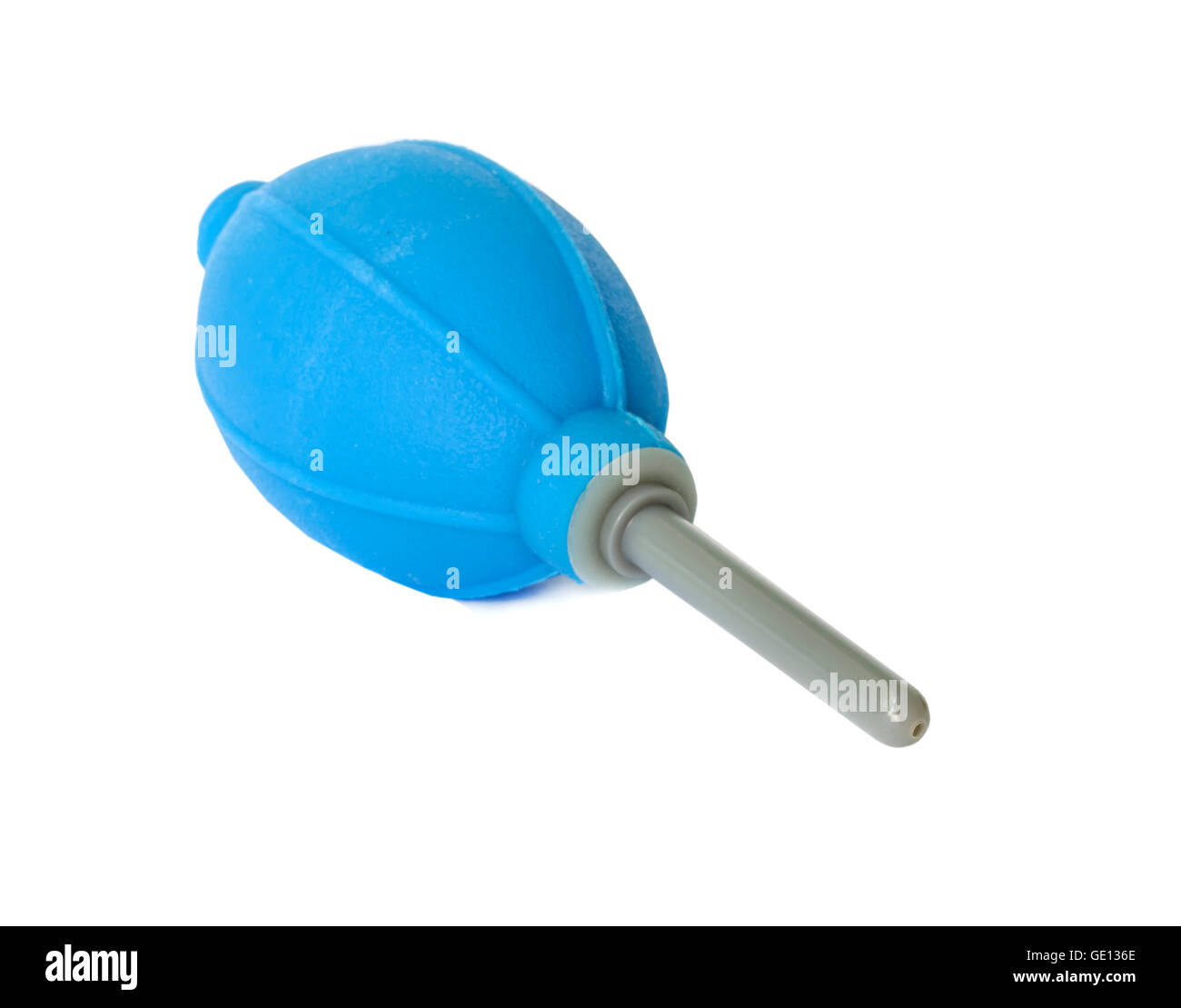 Rubber Air Blower Pump For Dust Cleaner in Camera and len. - Stock Image