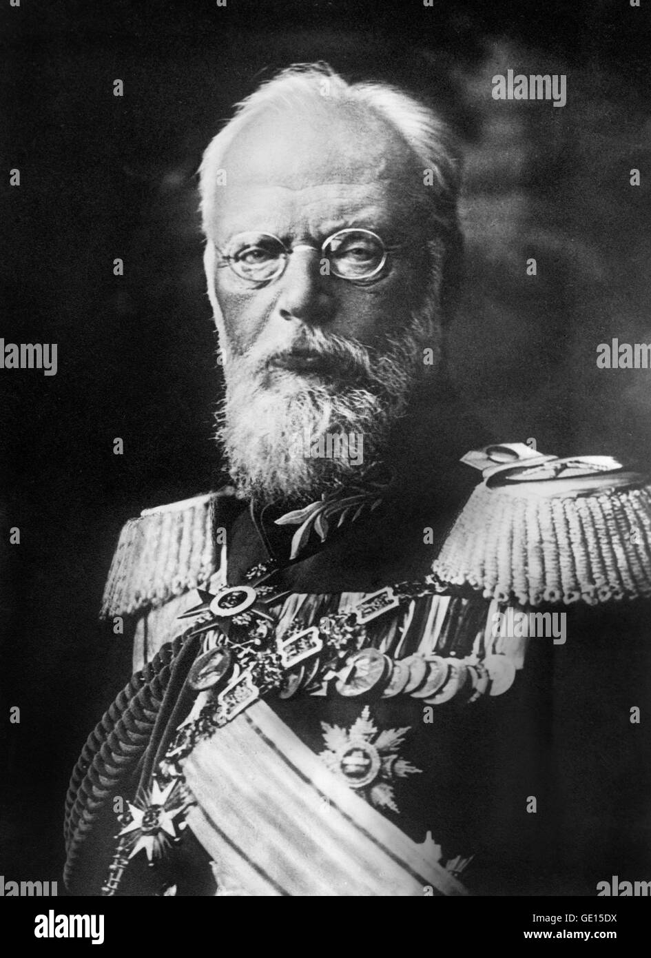 Ludwig III of Bavaria. Portrait of King Ludwig III (1845-1921) who was the last King of Bavaria, reigning from 1913 - Stock Image
