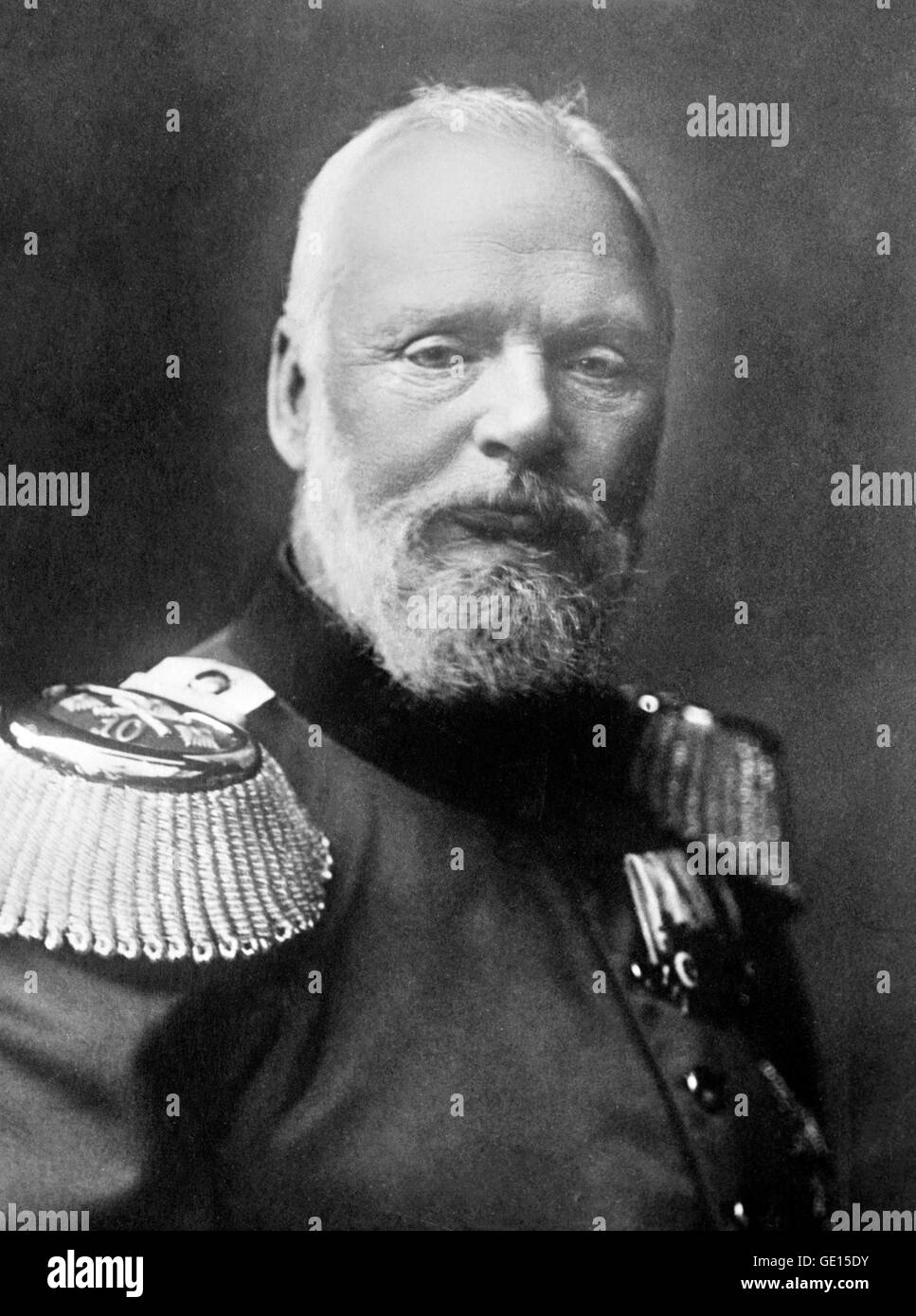 Ludwig III of Bavaria. Portrait of Prince Ludwig III (1845-1921) who was the last King of Bavaria, reigning from - Stock Image