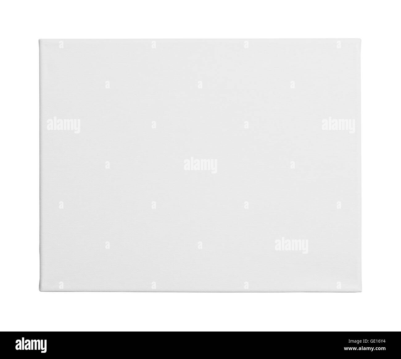 New Painters Art Canvas with Copy Space Isolated on White Background. - Stock Image