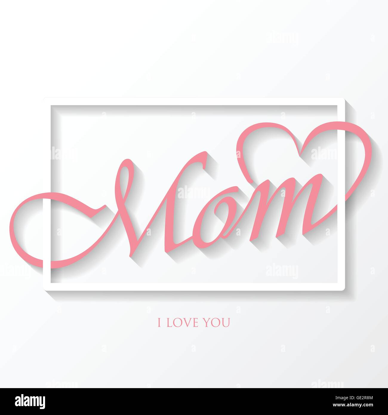 Happy Mothers Day Background Can Be Use For Greeting Card Wedding