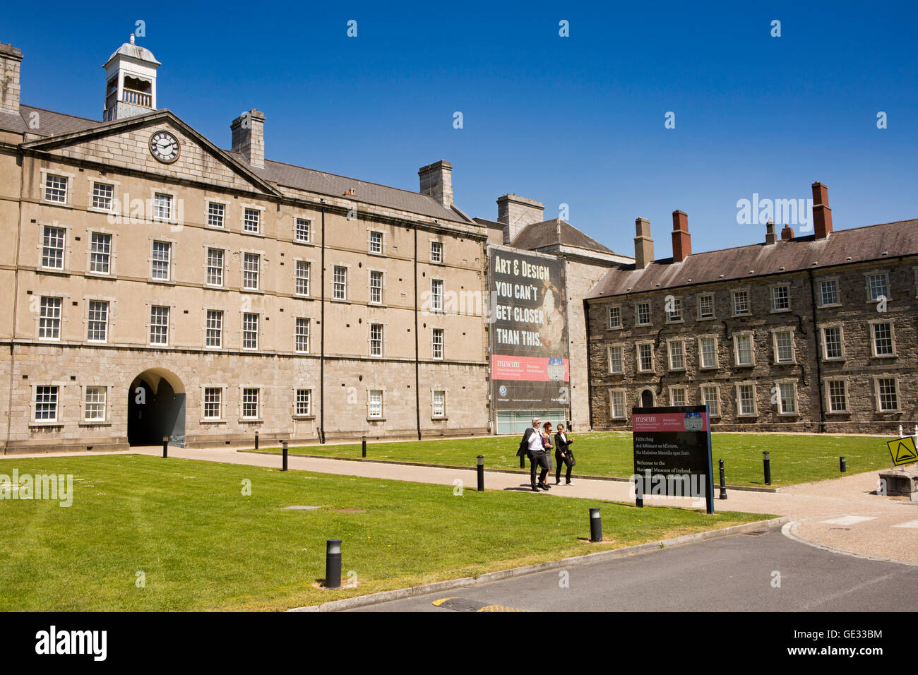 Ireland, Dublin, Benburb Street, National Museum of Decorative Arts and History in 1704 Collins Barracks - Stock Image