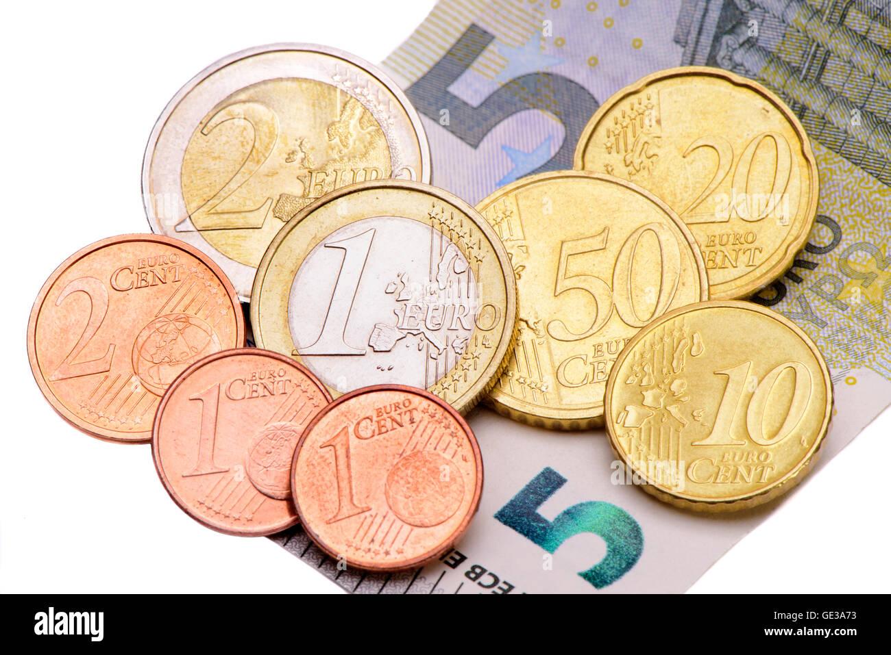 8,84 Euro minimum wage in Germany - Stock Image