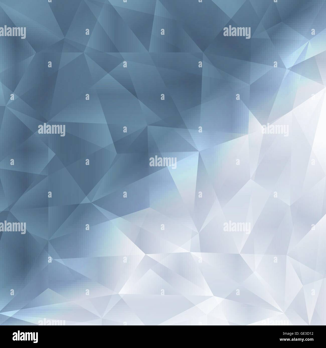 crystal fractal abstract background concept template for poster