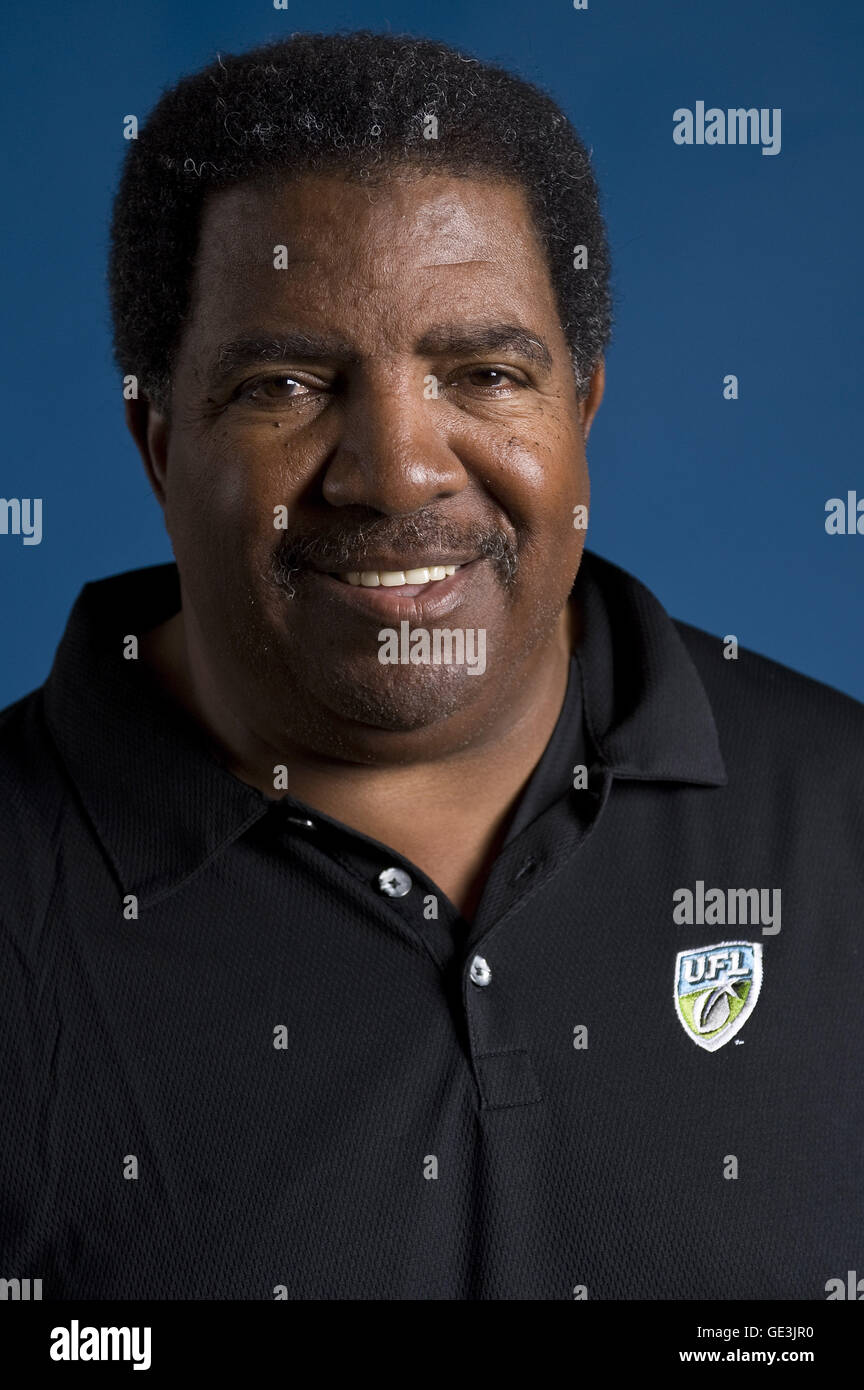 July 22, 2016 - File - DENNIS GREEN, former head coach of the Vikings and Cardinals, has died at the age of 67, - Stock Image