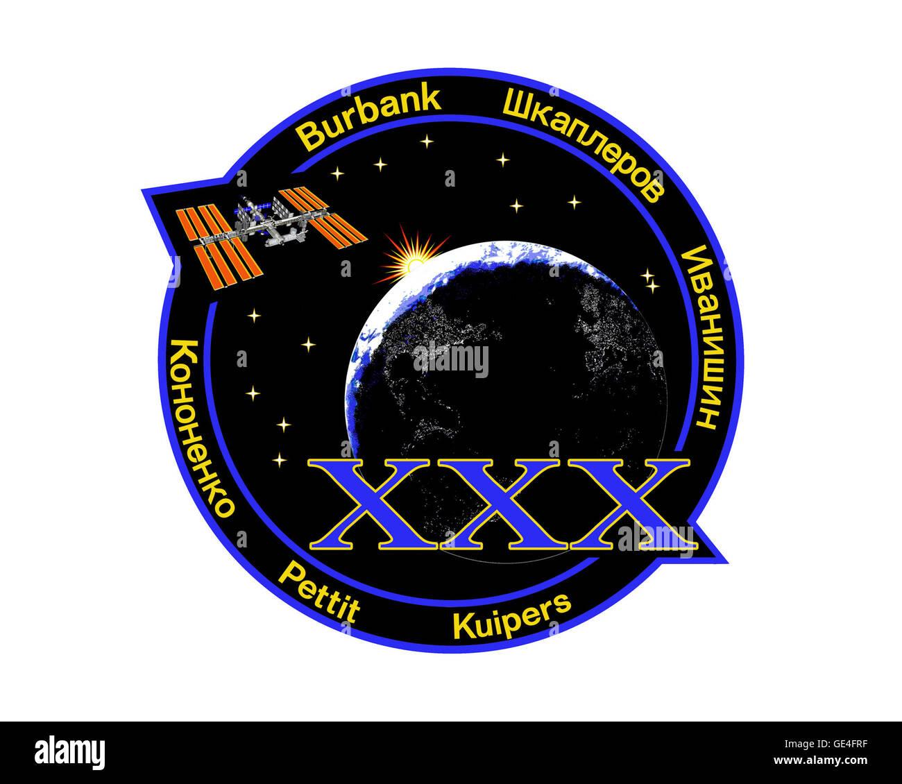 Launch: Soyuz TMA-22 November 13, 2011 Landing: April 27, 2012 Launch: Soyuz TMA-03M December 21, 2011 Landing: - Stock Image
