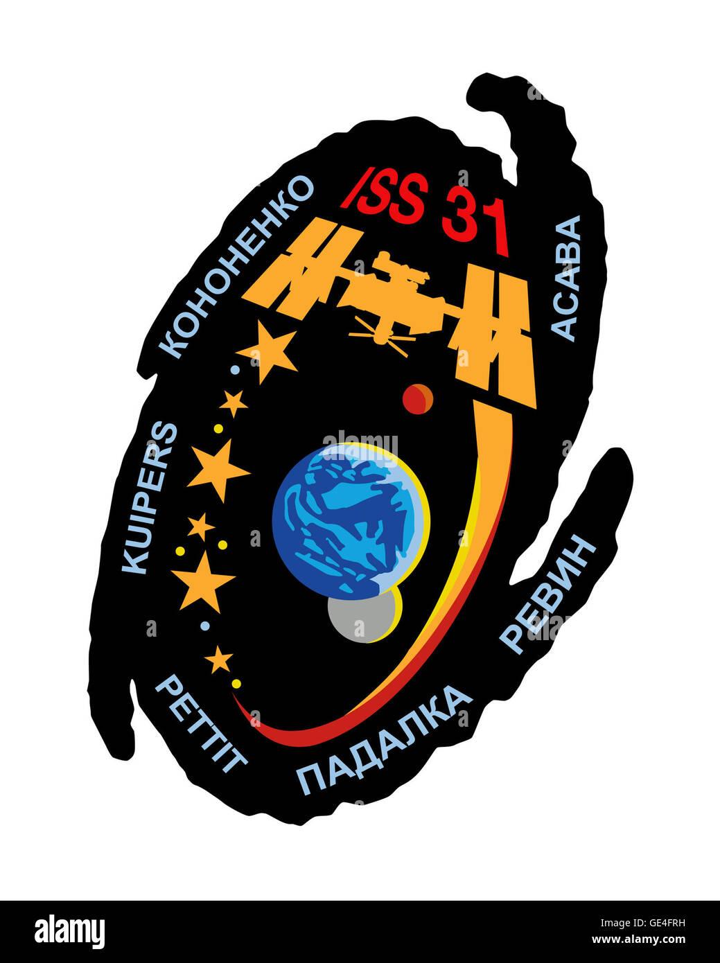 Launch: Soyuz TMA-03M December 21, 2011 Landing: July 1, 2012 Launch: Soyuz TMA-04M May 14, 2012 Landing: September - Stock Image