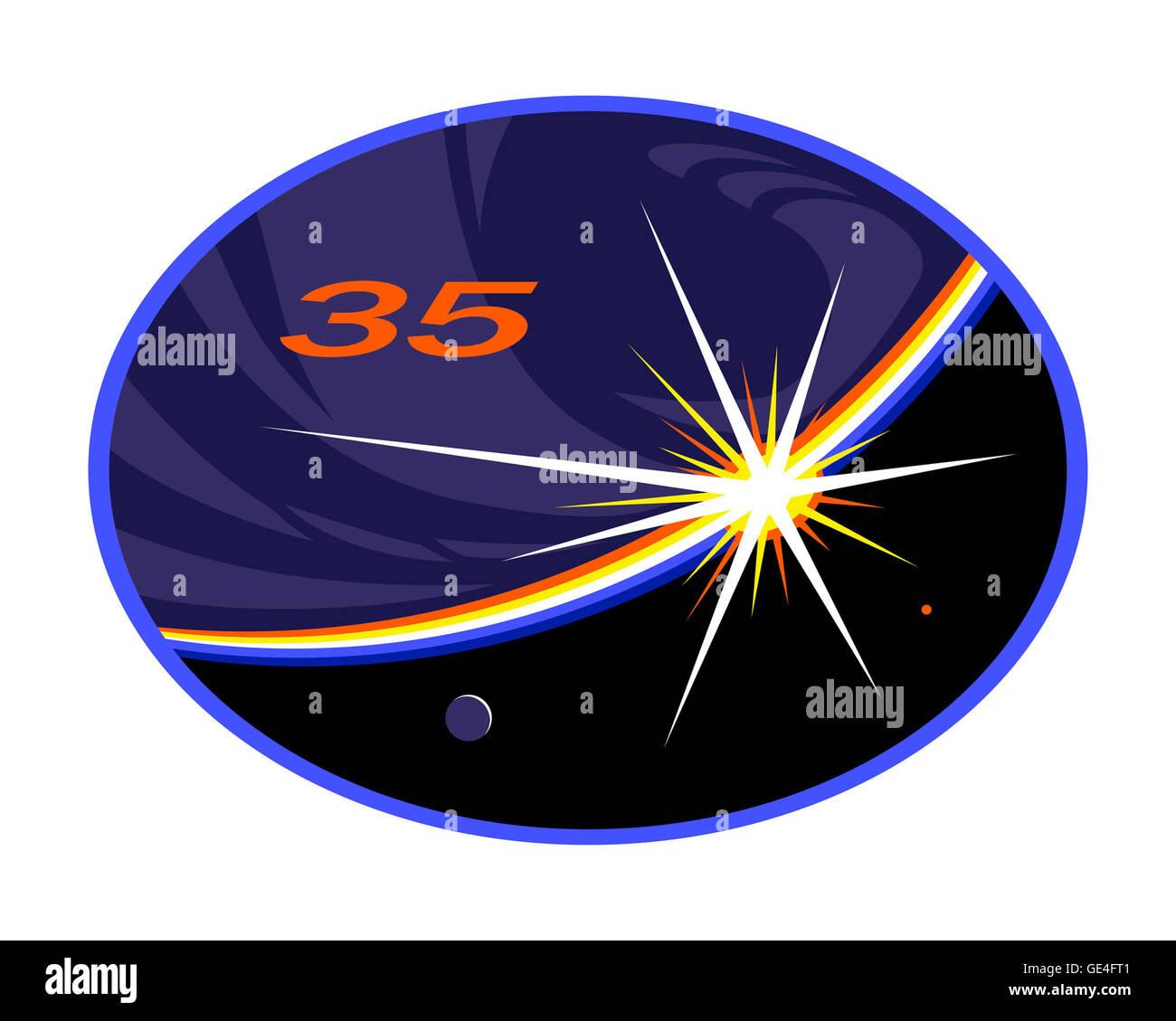 Launch: Soyuz TMA-07M December 19, 2012 Landing: May 13, 2013 Launch: Soyuz TMA-08M March 28, 2013 Landing: September - Stock Image