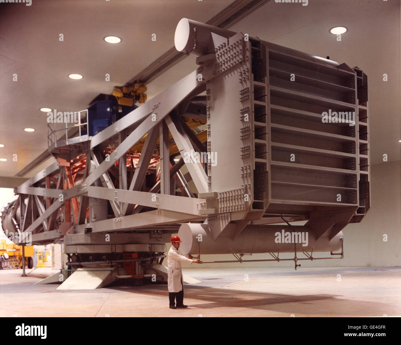 (2002) Goddard's Launch Phase Simulator or High-Capacity Centrifuge simulates vibration, G-forces and changing - Stock Image