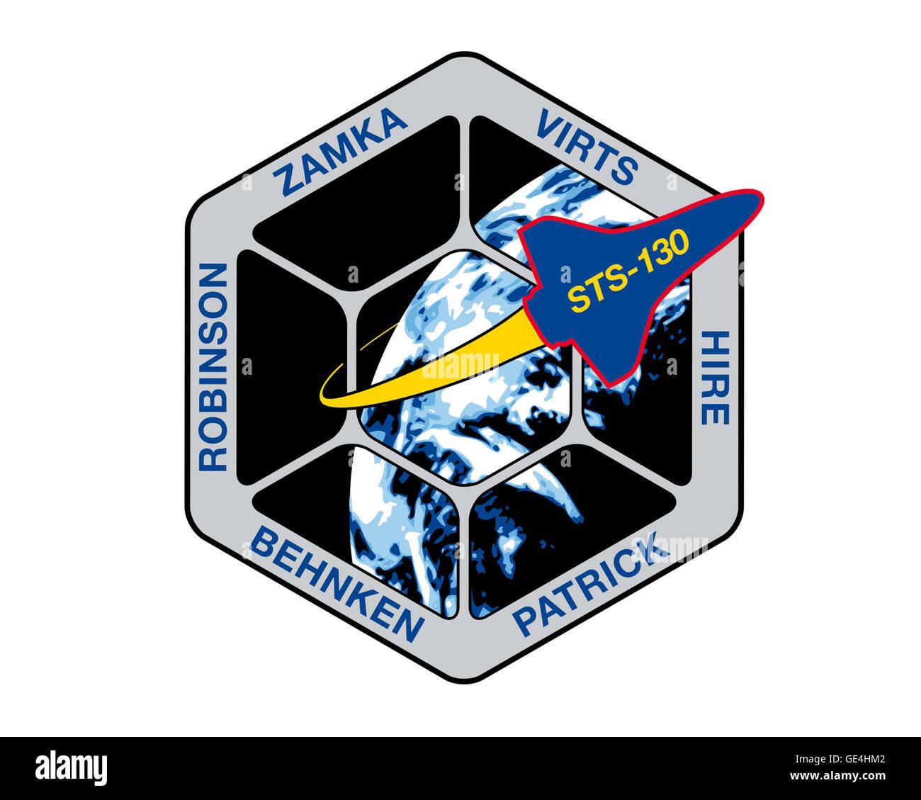 Launch: February 8, 2010, 4:14 am EST Landing: February 21, 2010, 10:20 pm EST, Kennedy Space Center Space Shuttle: Stock Photo