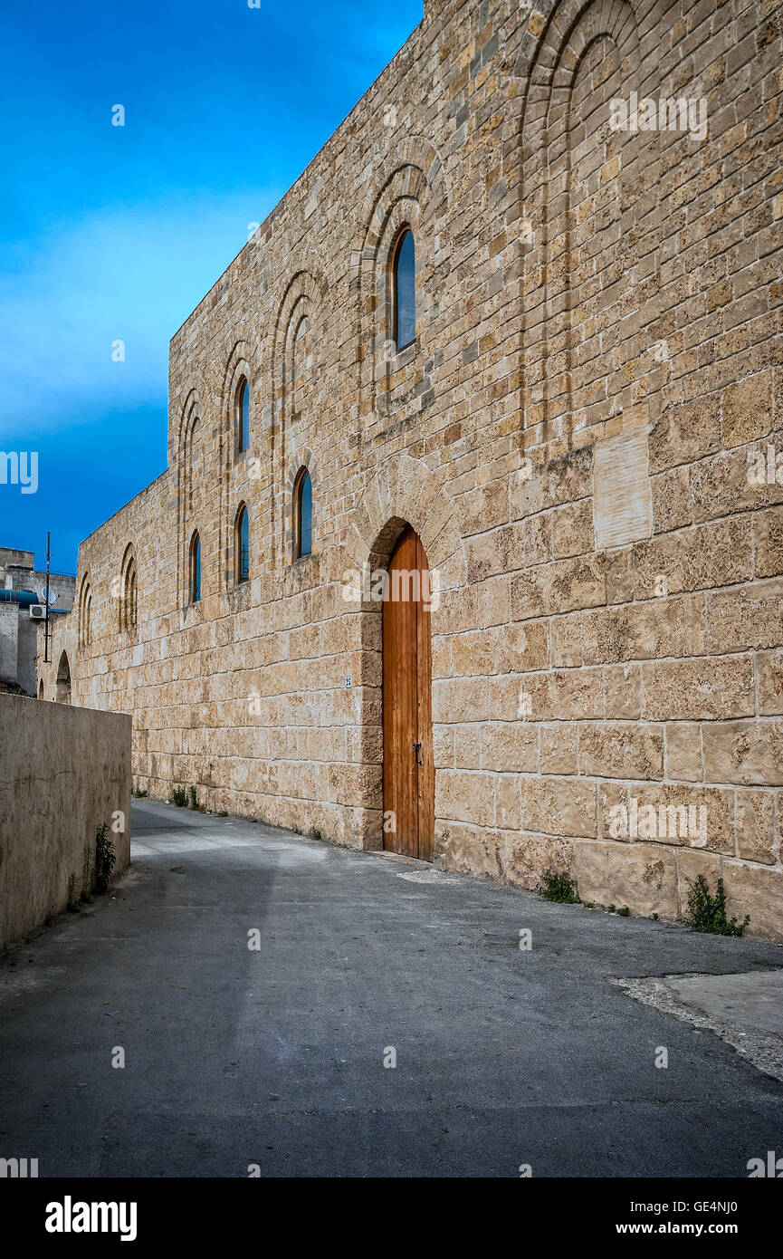 Italy Sicily Palermo Favara Castle or Mare Dolce castle - Stock Image