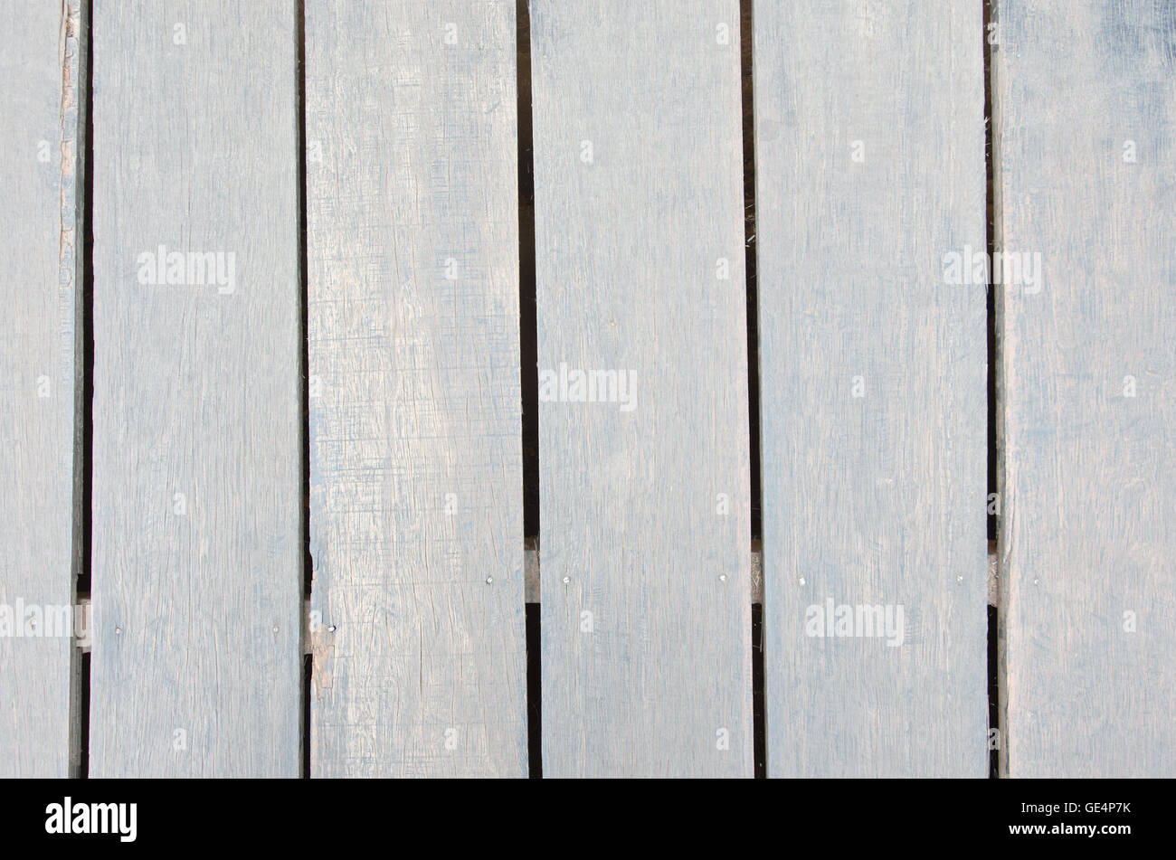 Wooden board background for graphic resource usage - Stock Image