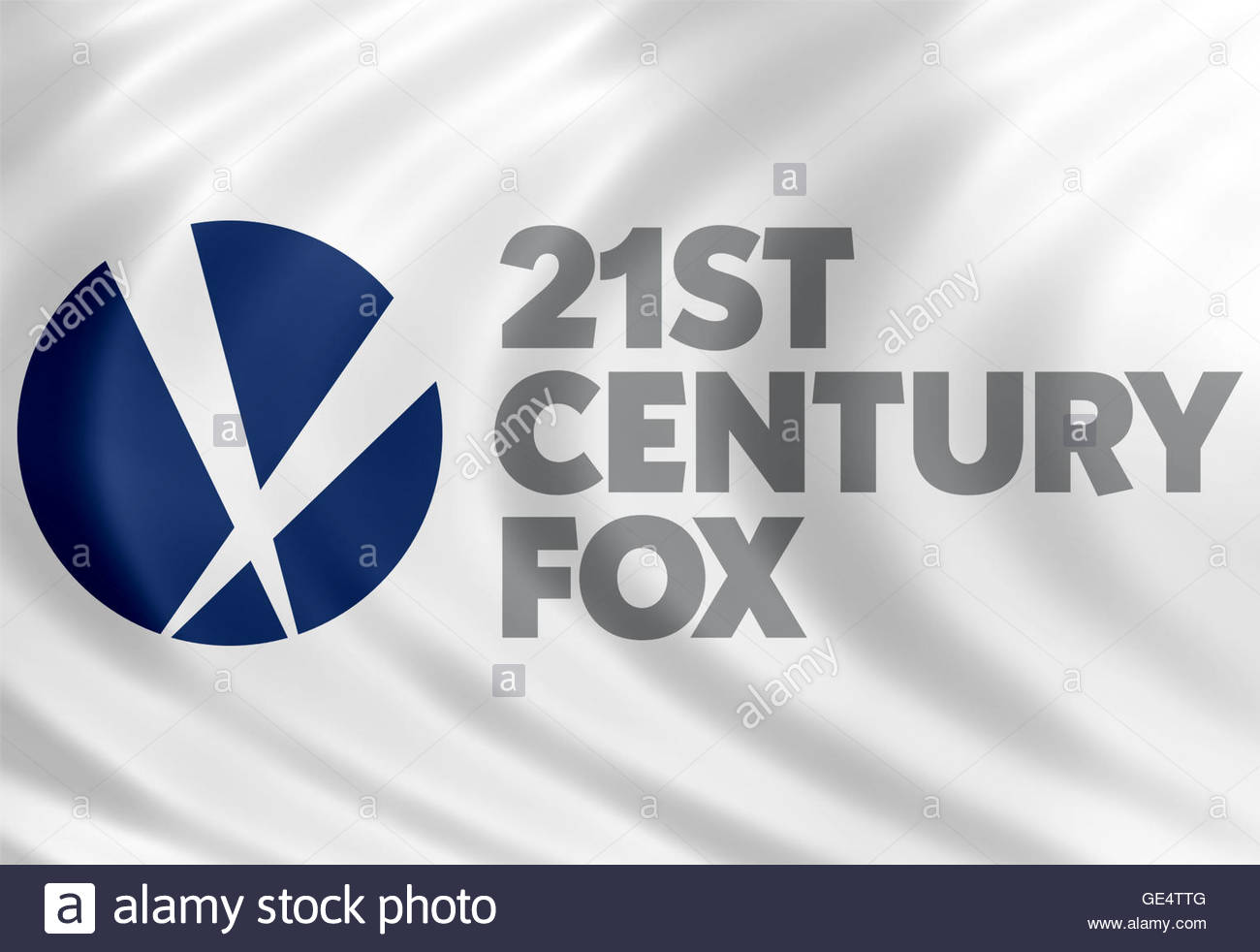 21st Century Fox icon logo - Stock Image