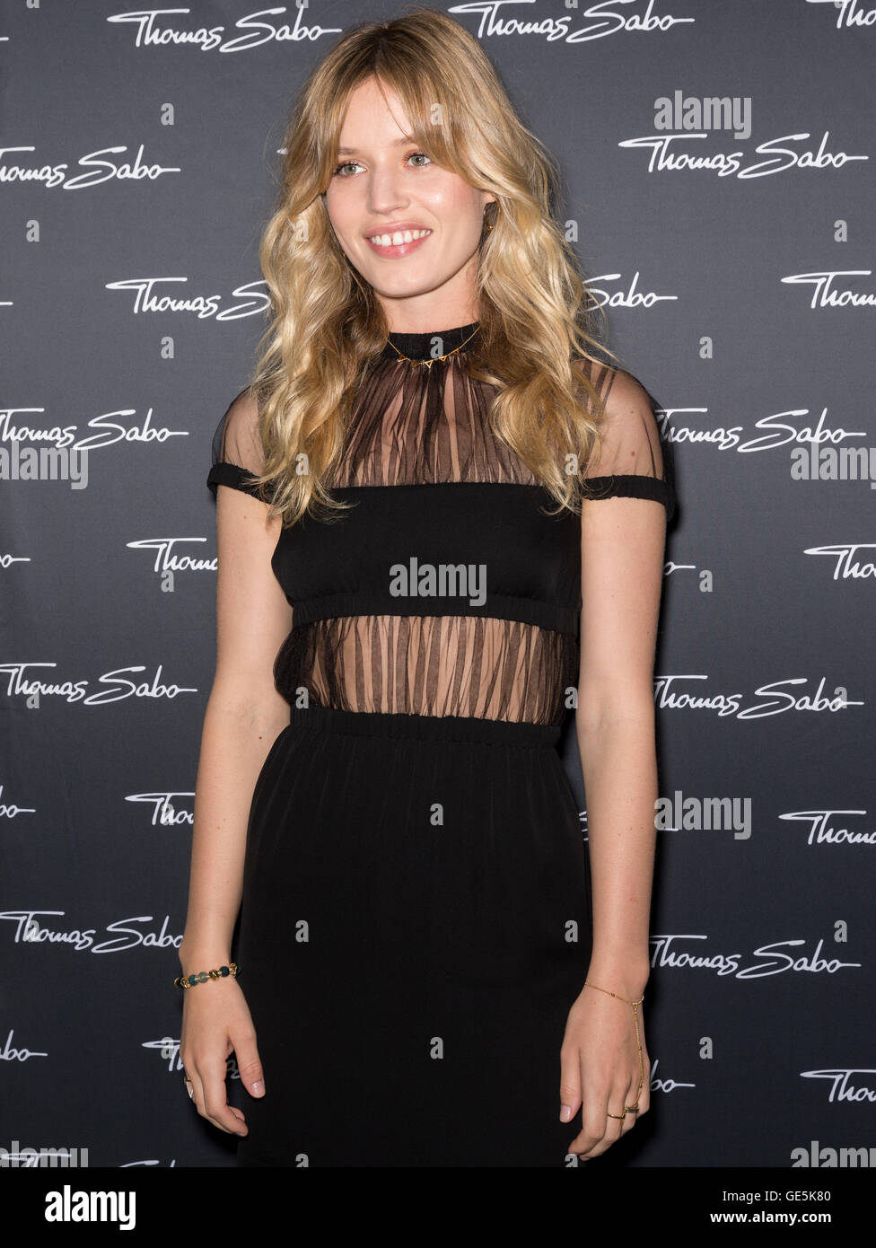 NEW YORK, NY - JULY 21, 2016: Georgia May Jagger attends the Thomas Sabo New Collection Celebration at the Sky Room - Stock Image