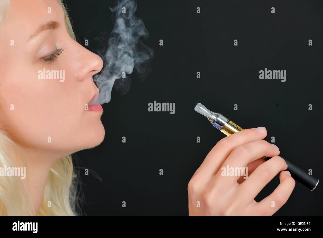 Electronic cigarette - Stock Image
