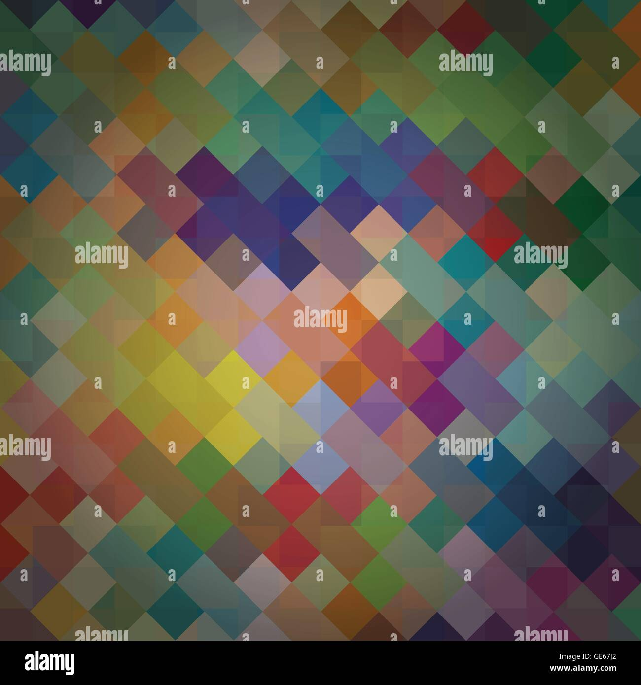 Knitted colorful abstract wool background illustration vector - Stock Vector