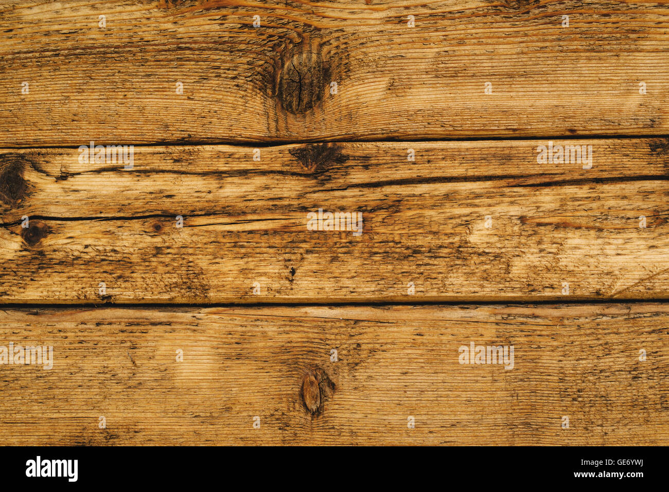 wet wooden floor board surface of solid rustic wood planks stock