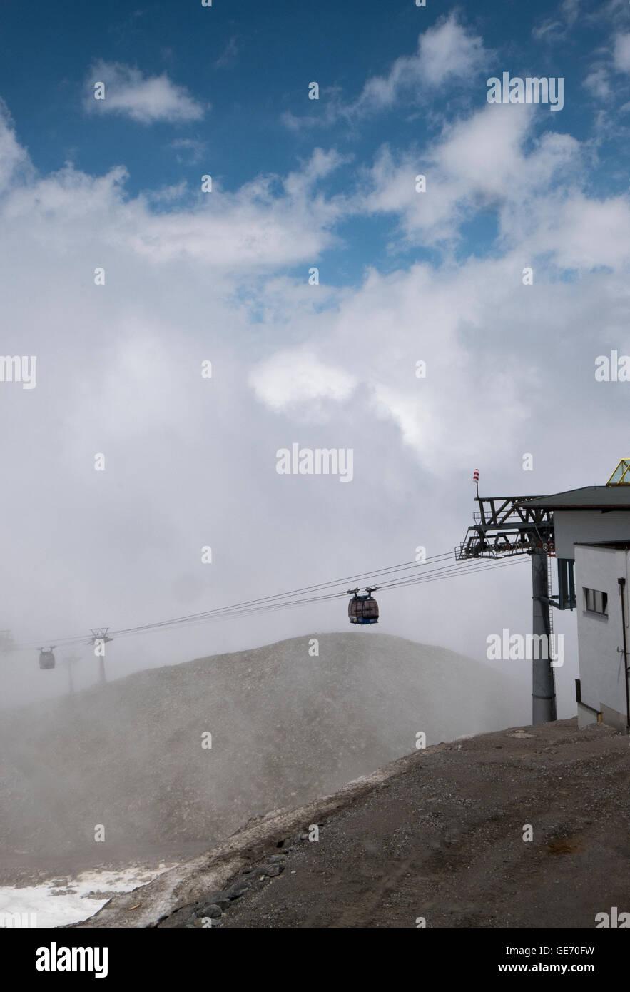Scenes around Mayrhofen in Austria - Stock Image