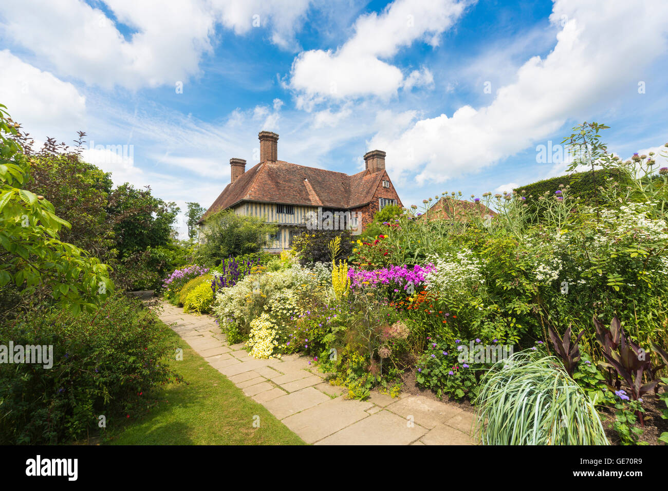 The Long Border At Great Dixter The Country House Home And