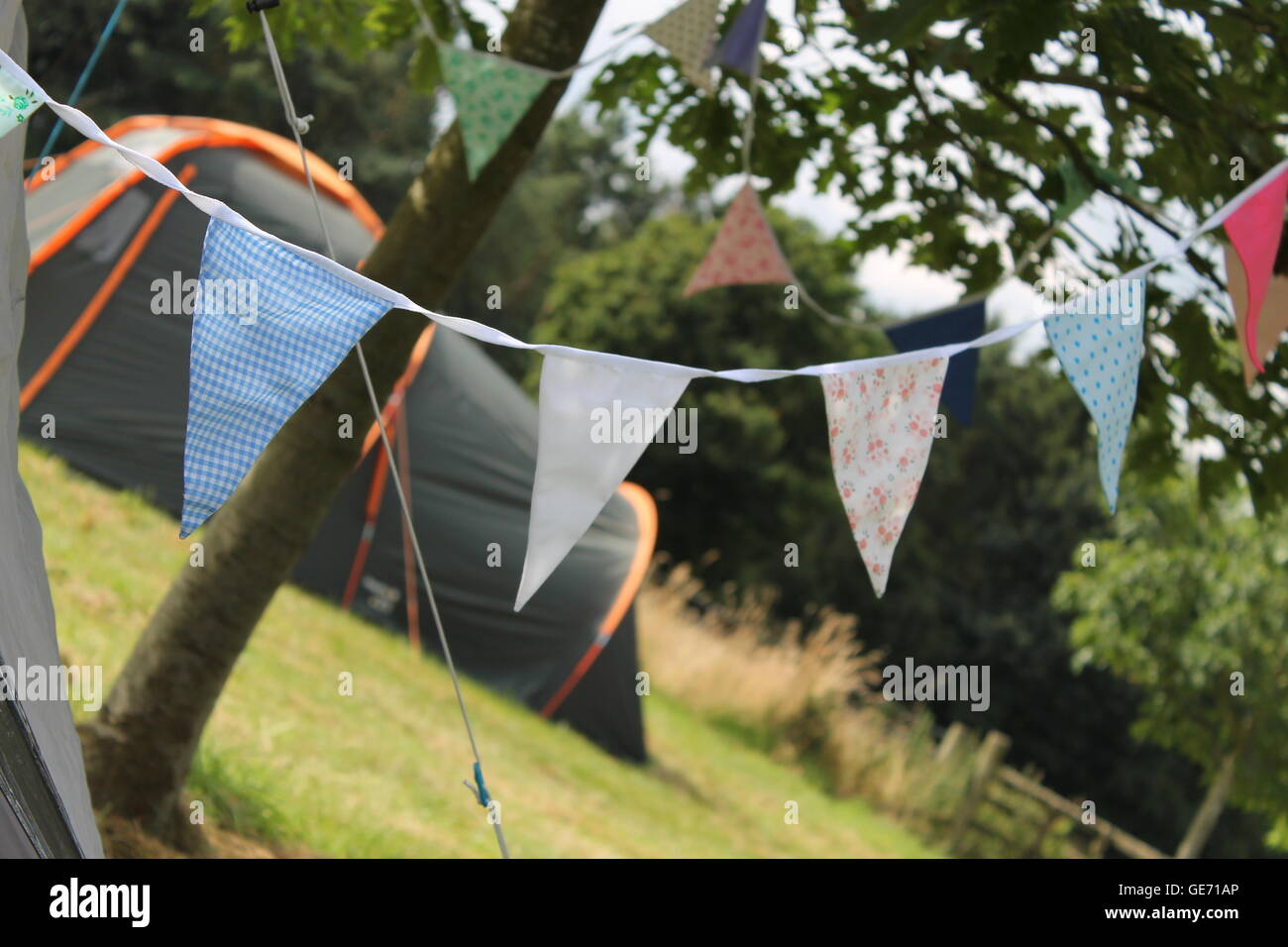 Bunting, Summer Wedding, Party, Camping, Tent, Glamping, Garland, Outdoor  Decoration, Garden Party, Vintage, Flags