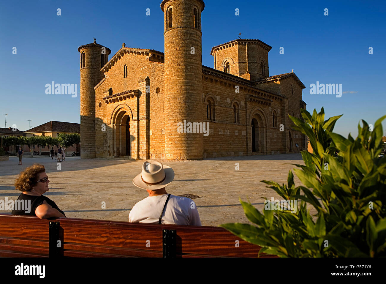 San Martín church. Frómista. Palencia province.Spain. Camino de Santiago - Stock Image