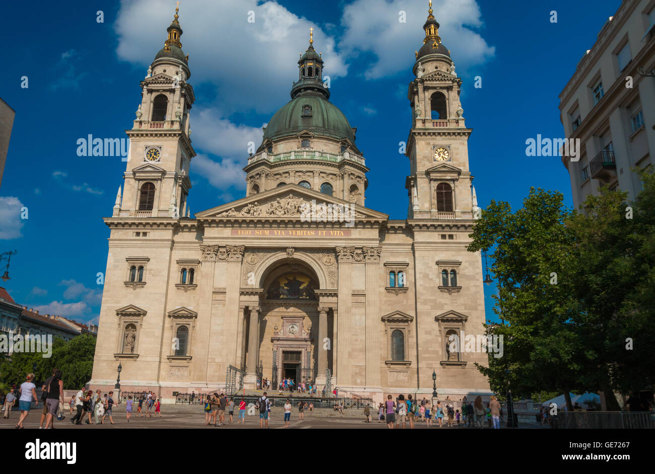 Budapest Cathedral - Stock Image