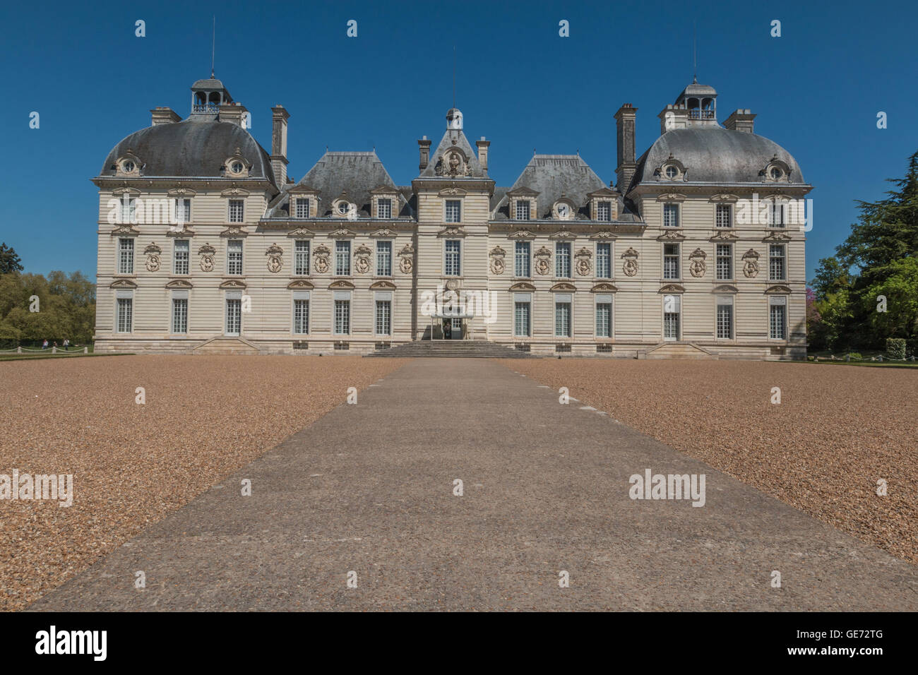 Cheverny Palace in France - Stock Image