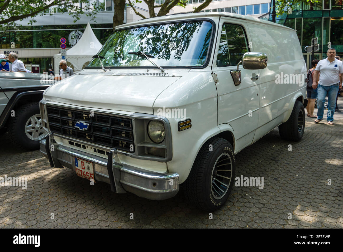 Chevrolet Van Stock Photos Images Alamy 1954 Chevy Step Berlin June 05 2016 Full Size Third Generation