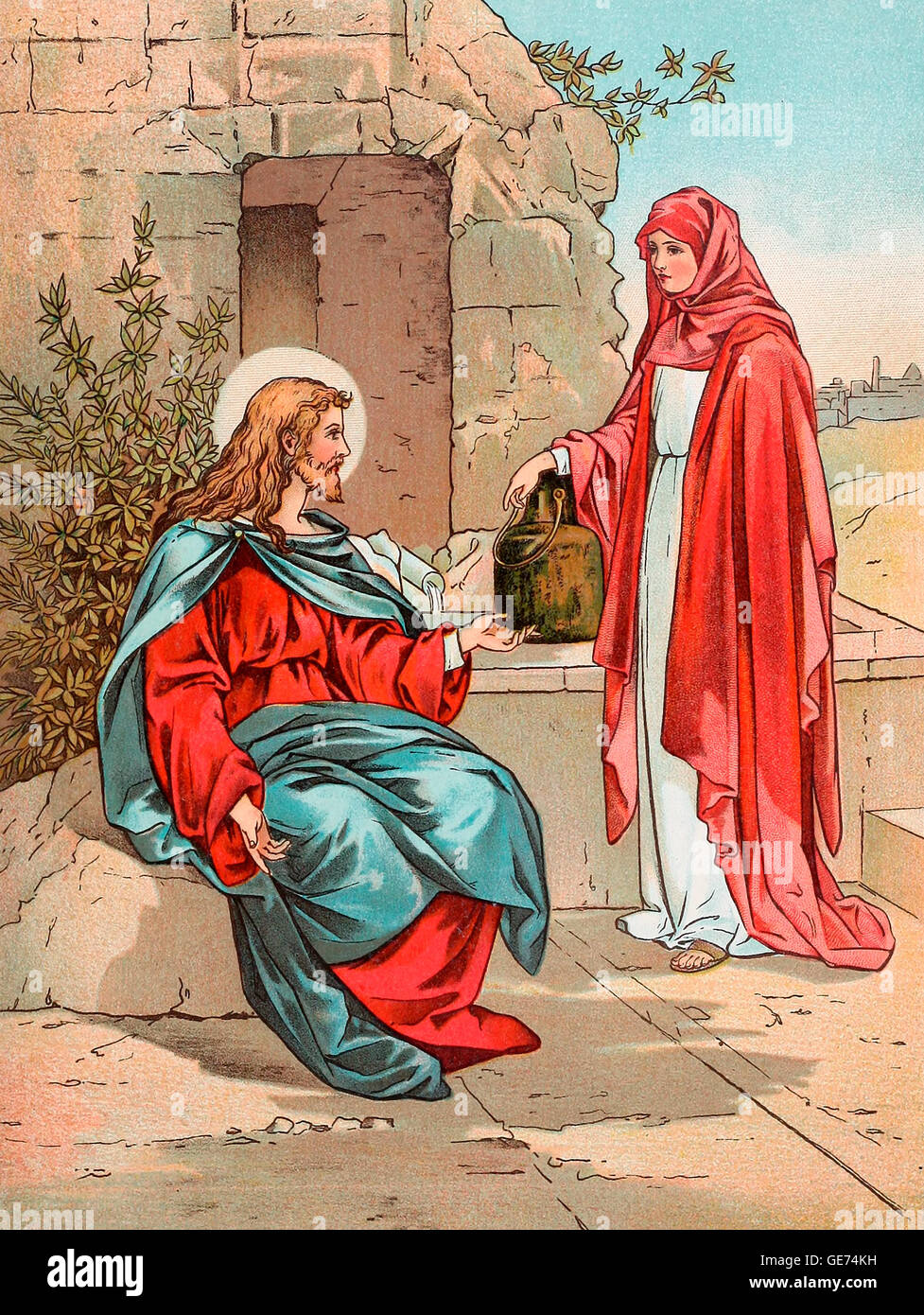 woman at the well picture