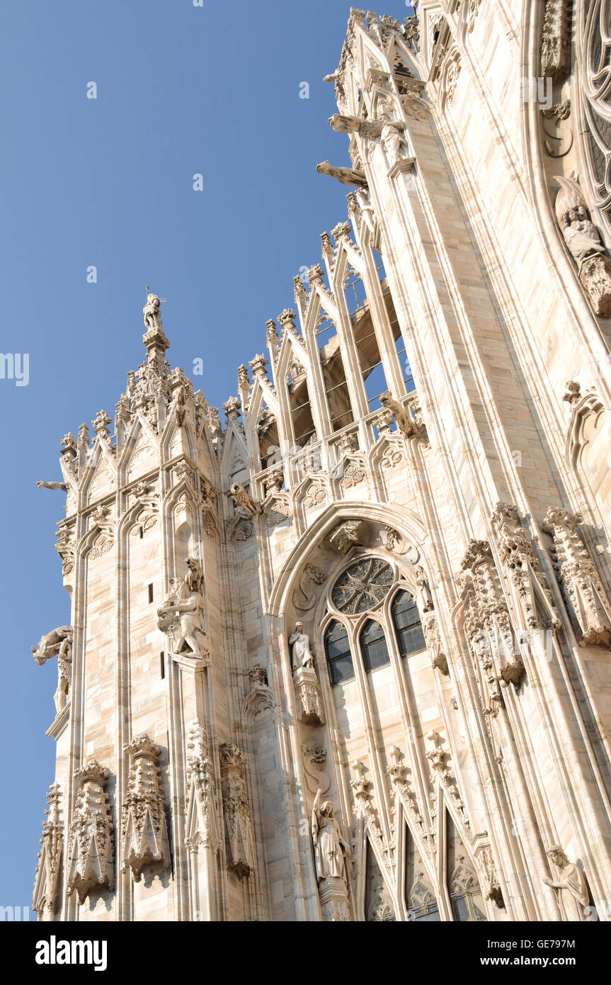 Milano, Mailand, Cathedral, Dome, Church - Stock Image