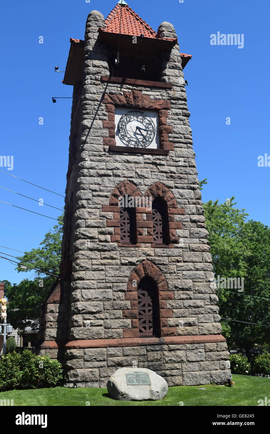 Roslyn Clock Tower - Stock Image