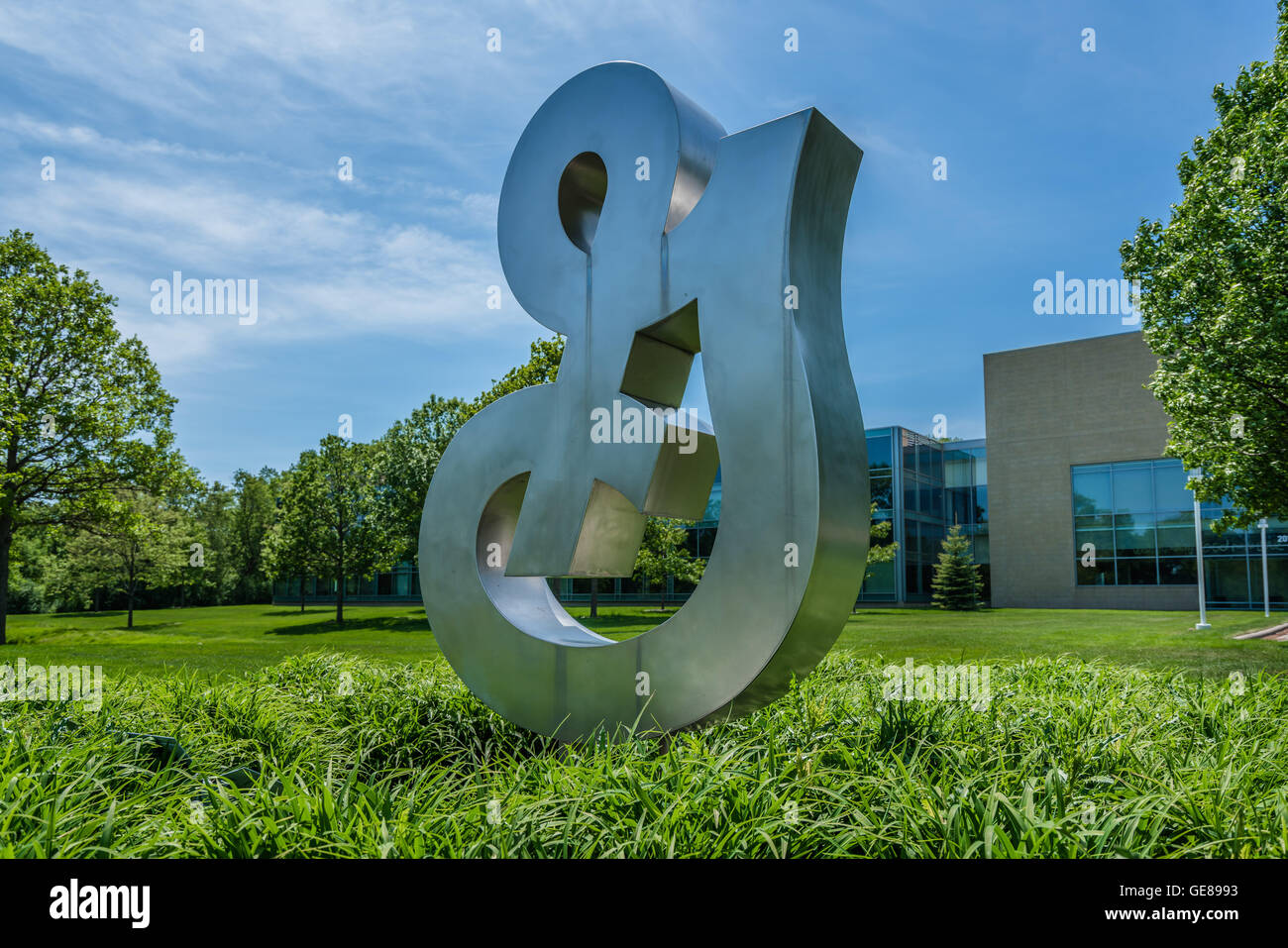 General Mills Corporate Headquarters Sign - Stock Image