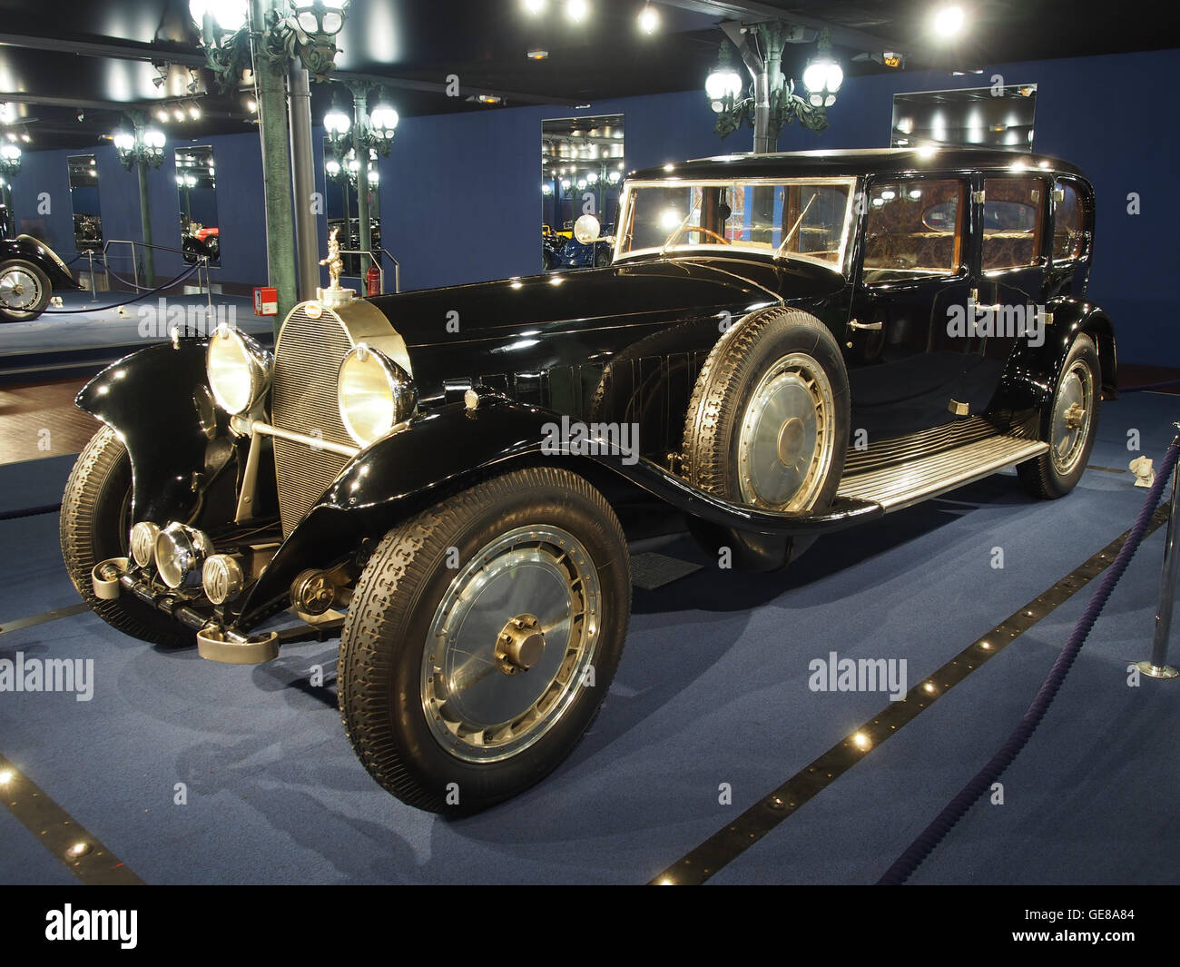 1933 Bugatti Limousine TType 41 Royale, 300cv 12763cc 180kmh (MNA 0913) photo 1 - Stock Image